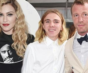 Мадонна помирилась с сыном и бывшим мужем