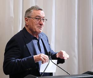 Роберт Де Ниро и другие звезды на открытии кинофестиваля Трайбека
