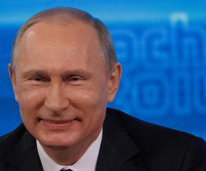 Путин отшутился на вопрос о предсказуемой победе «Единой России» на выборах