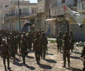 Боестолкновения в Алеппо, сбитый самолёт ВВС САР в районе Эр-Ракки