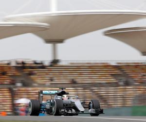 Формула-1. Гран-при Китая. Квалификация. LIVE
