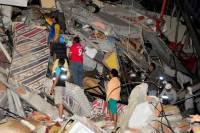 В Эквадоре число жертв землетрясения возросло до 233 человек