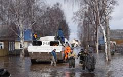 В Вологодской области ввели режим ЧС из-за паводка