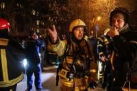 В Екатеринбурге тушат крупный пожар на машиностроительном заводе