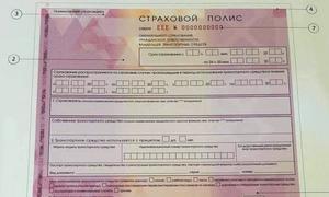 Страховщики представили новый бланк полиса ОСАГО