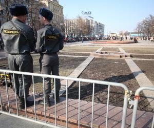 В Москве в подвале жилого дома нашли склад боеприпасов