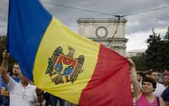 В Кишиневе произошли стычки между протестующими и полицией