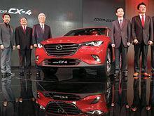 Новый серийный кроссовер  Mazda  дебютировал в Пекине