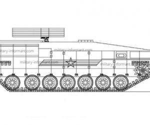 СМИ: КБ приборостроения разрабатывает ракетный комплекс на платформе «Армата»