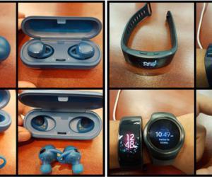 Фото: Первые снимки Samsung Gear Fit 2 и наушников IconX