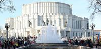В Минске сегодня включат фонтаны после зимы