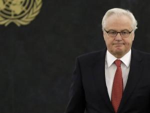 Чуркин: Киев стягивает силы к границе с ДНР и ЛНР