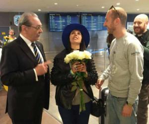 Евровидение 2016: Джамала прибыла в Стокгольм (ФОТО)