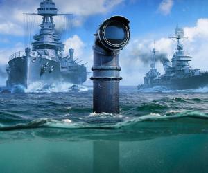 Объяснена механика работы подлодок в World of Warships