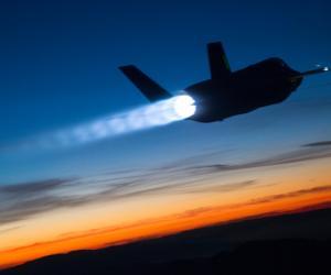 Боевой лазер на американском истребителе установят в 2023